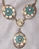 TURQUOISE IN CRYSTAL Necklace
