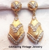 GOLDEN ICE Earrings  - ULTRA FASHION COLLECTION