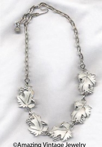 WHISPERING LEAVES Necklace