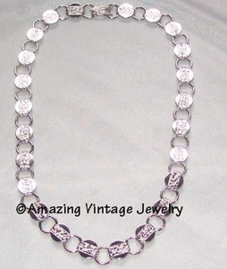 YOUNG & GAY Necklace - Silvertone