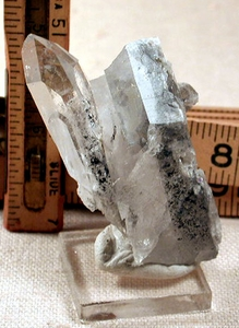 SOLD: Isis Crystal on Dark Blue Shale Included Quartz