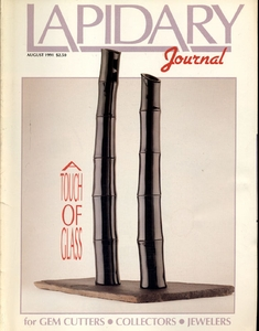 Lapidary Journal, August 1991 SOLD