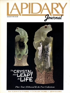Lapidary Journal, August 1992