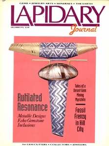 SOLD: Lapidary Journal, December 1992
