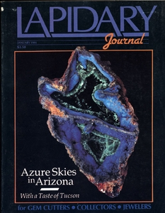 Lapidary Journal, January 1991 SOLD
