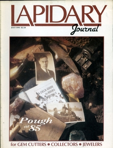 Lapidary Journal, July 1991 SOLD