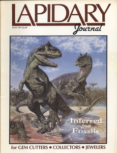 Lapidary Journal, June 1991 SOLD