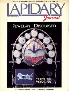 Lapidary Journal, September 1992