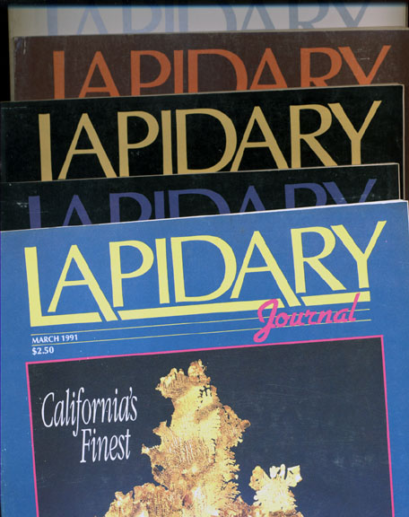 Lapidary Journal, Single Back Issues 1990 and On