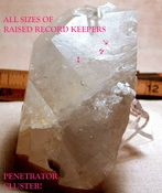 SOLD: Large Rainbow Tabular Arkansas Golden Healer Hera Crystal