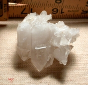 Many-Layered and 'Frilled' Arkansas Quartz Crystal Cluster