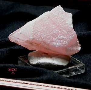 SOLD:  HEART OF ROSE QUARTZ - Naturally Shaped, South Dakota