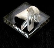 SOLD: Pristine Rarities - Natural Rock Crystal Trio of Points
