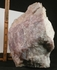 Stately XL Cabinet Rare California Gemmy Lavender Rose Quartz Rough