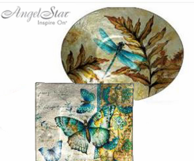 Angel Star Decorative Plates