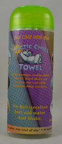 Arctic Chill Green Towel