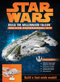 Becker and Mayer 3D Millenium Falcon Paper Model Kit