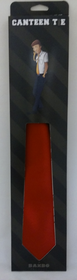 Canteen Tie Solid Red