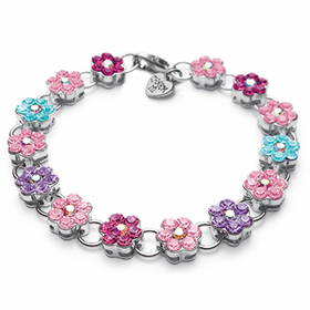 CHARM IT! Acrylic Flower Bracelet
