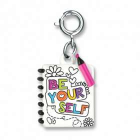 CHARM IT! Be Yourself Journal Charm
