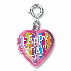 CHARM IT! Happy B-Day Locket Charm