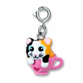 CHARM IT! Kitten in a Cup Charm