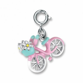 CHARM IT! Pink Bicycle Charm