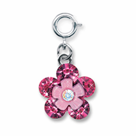 CHARM IT! Pink Daisy Charm