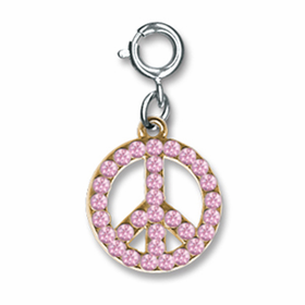 CHARM IT! Pink Peace Charm