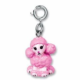 CHARM IT! Pink Poodle Charm