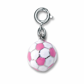 CHARM IT! Pink Soccerball Charm