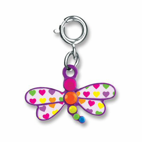 CHARM IT! Rainbow Dragonfly Charm