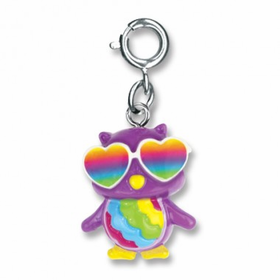CHARM IT! Rainbow Owl Charm