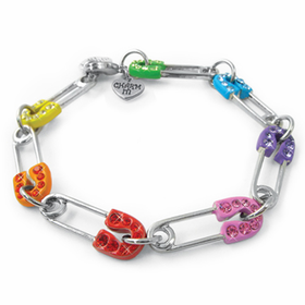 CHARM IT! Safety Pin Bracelet
