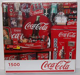 Puzzle Coca Cola Memories 1500 Piece
