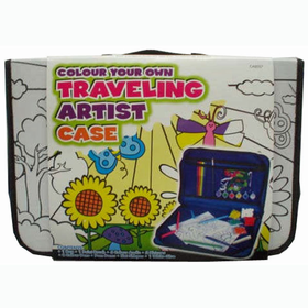 Color Your Own Traveling Artist Case