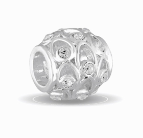 Davinci Beads April Crystal Orb Decorative