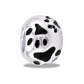 Davinci Beads Ball Paws Silver