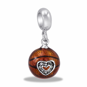 Davinci Beads Basketball Dangle