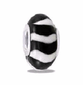Davinci Beads Black White Fimo