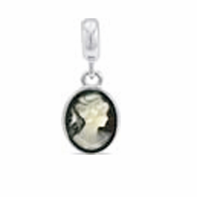 Davinci Beads Cameo Dangle