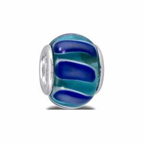 Davinci Beads Blue Green