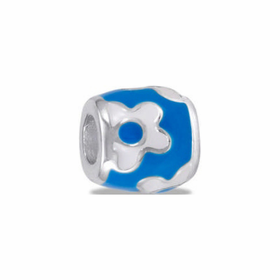 Davinci Beads Bright Blue Daisy