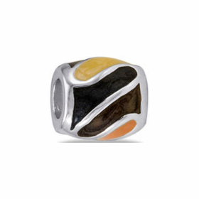 Davinci Beads Brown Yellow Orange