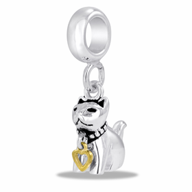 Davinci Beads Cat Dangle