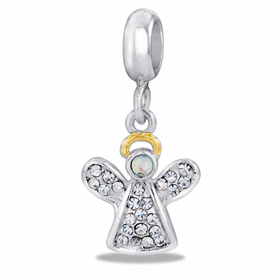 Davinci Beads CZ Angel
