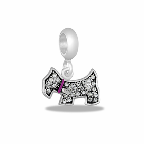 Davinci Beads CZ Dog