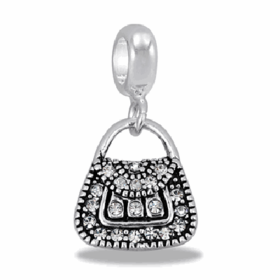 Davinci Beads CZ Purse