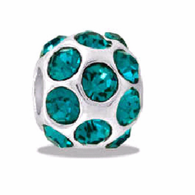 DAVINCI BEADS DECEMBER CZ BALL BIRTHSTONE