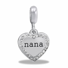 Davinci Beads Duo Nana Heart